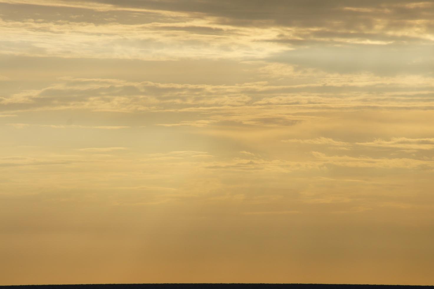 Crépuscule dans les nuages, Qerret, 11 septembre 2014