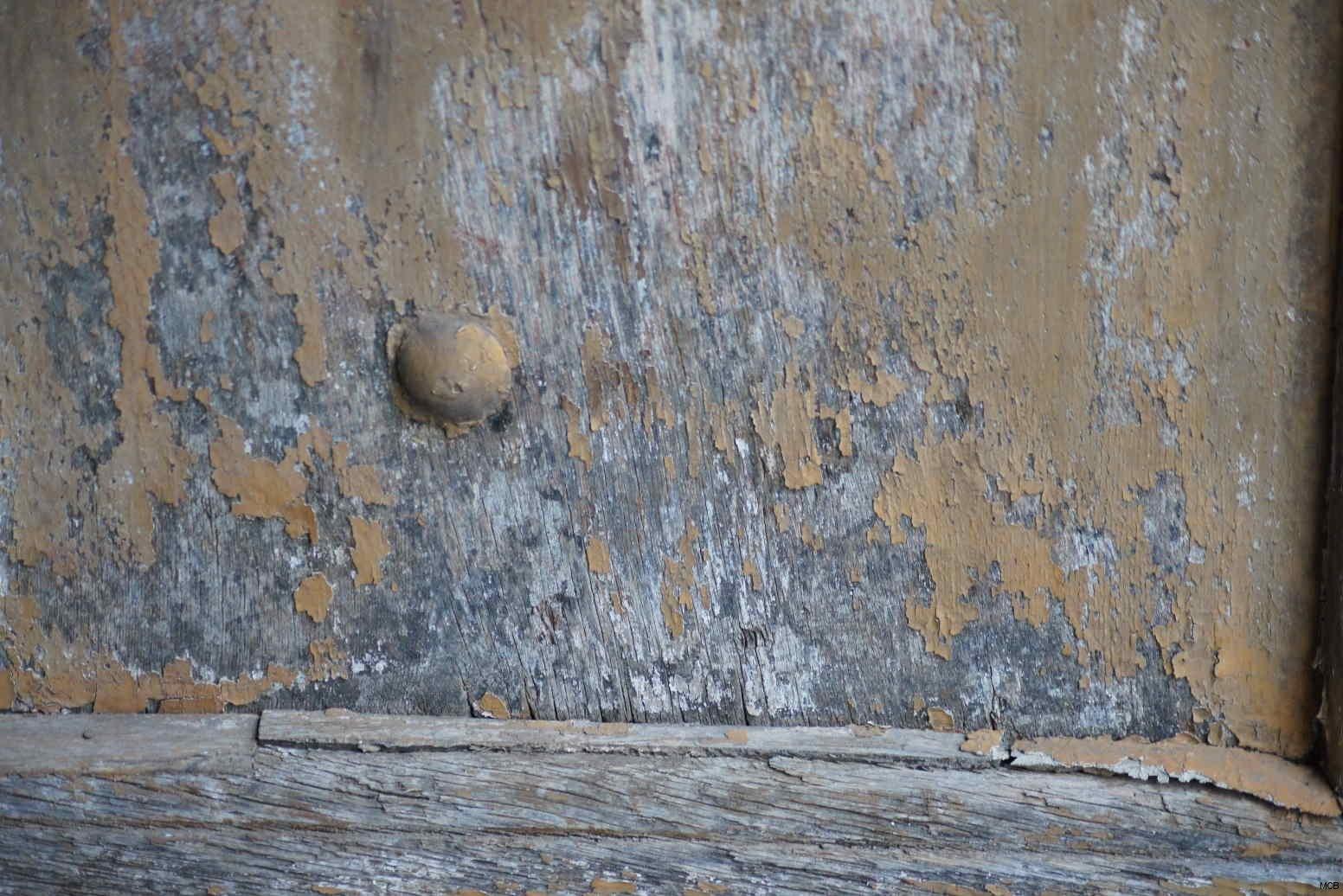 Fragment de porte