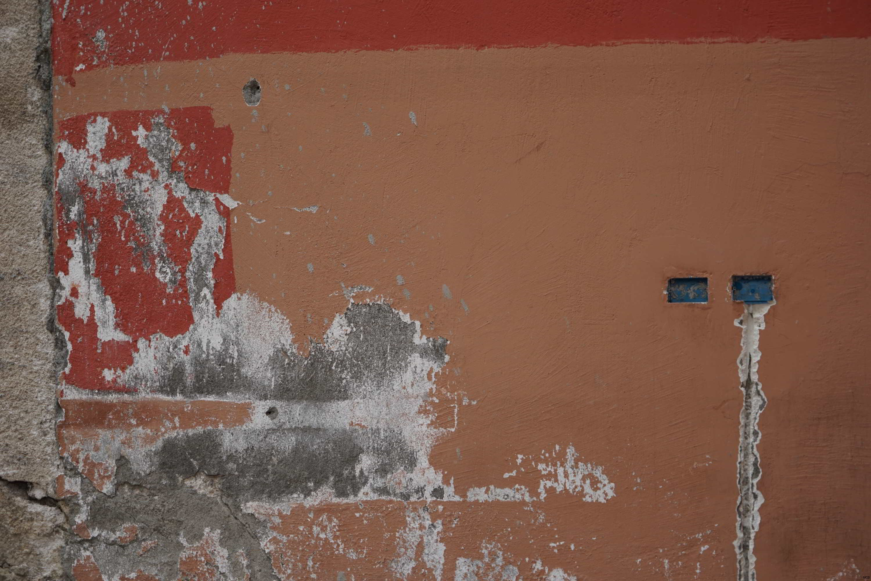 Mur entamé
