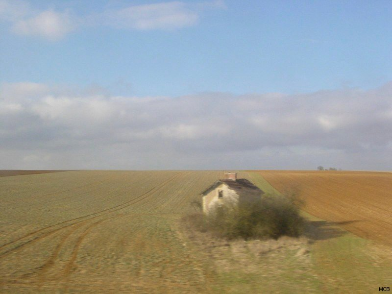 Solitude, du train vers Paris