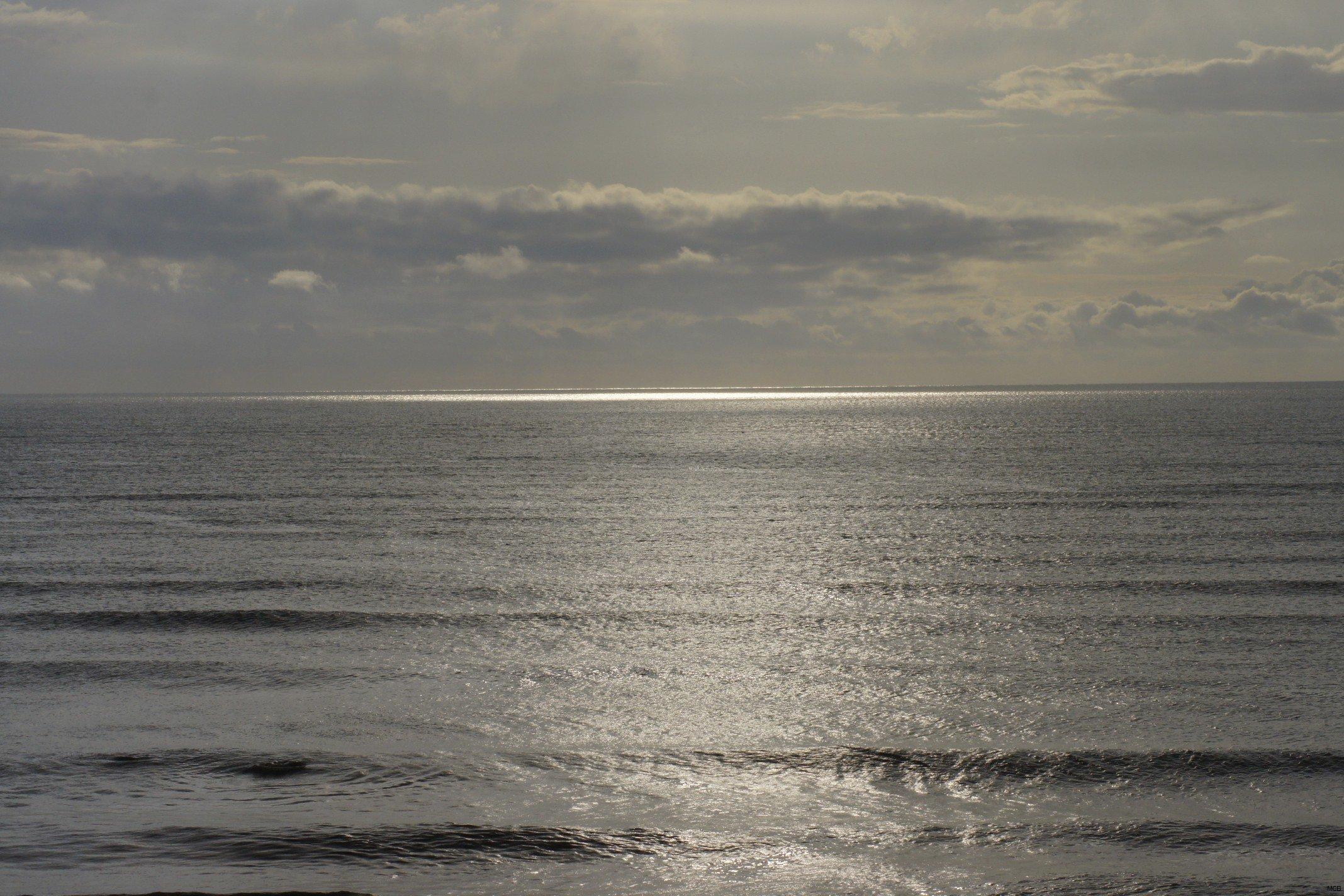 Nuages sur mer