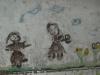 Enfant sur mur