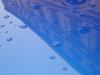 Gouttes de pluie sur toit de voiture(2)
