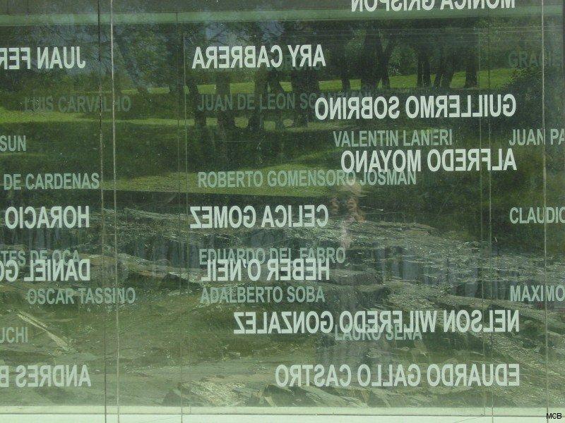 Noms des disparus