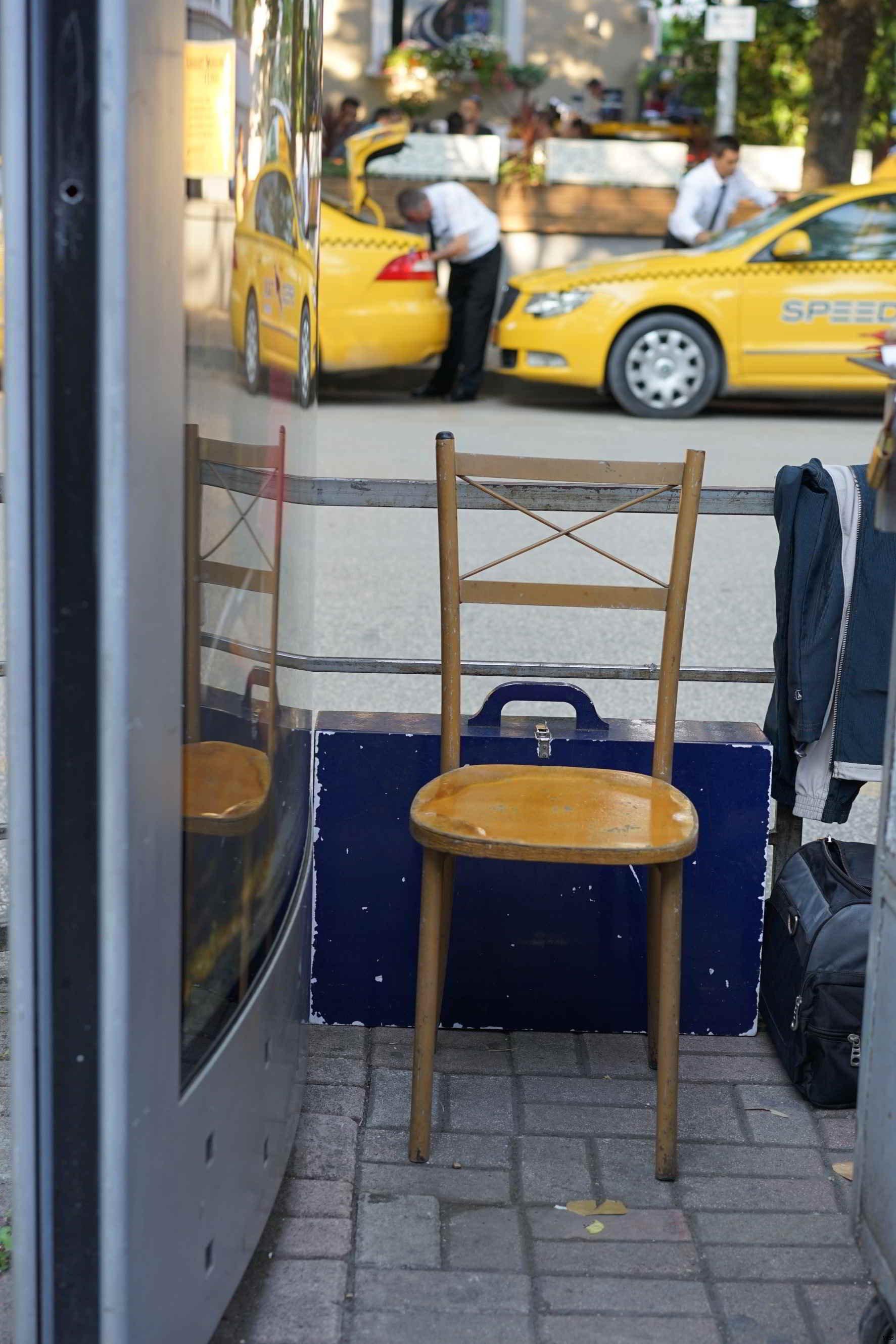 Chaise des villes
