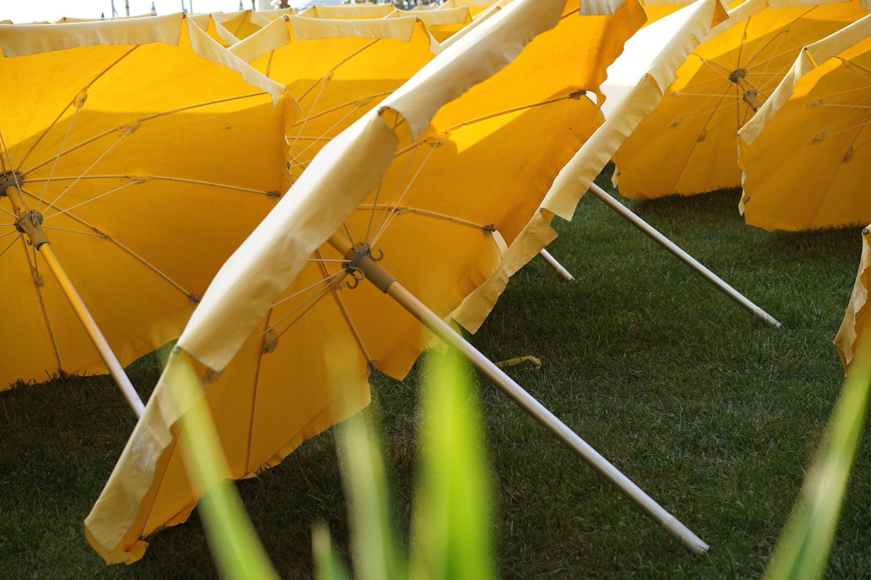 Parasol en attente