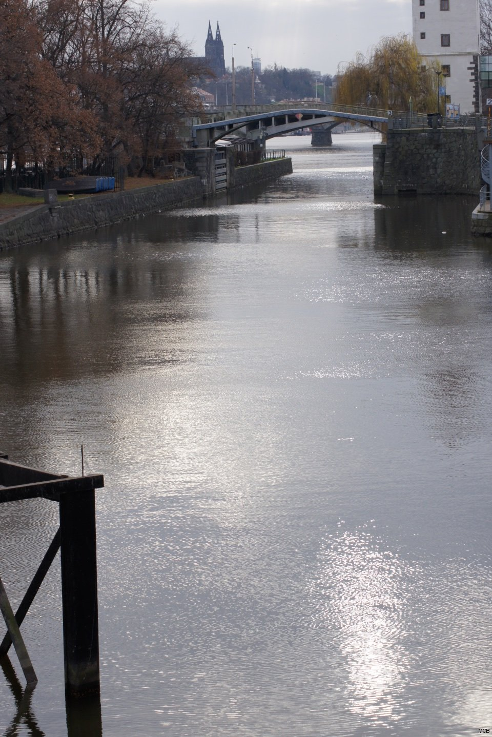 Le Fleuve de Prague, 21 décembre 2014