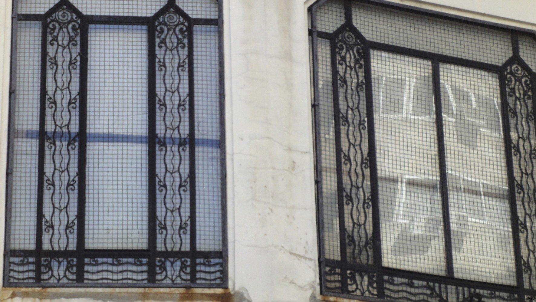 Fenêtre reflétant fenêtre