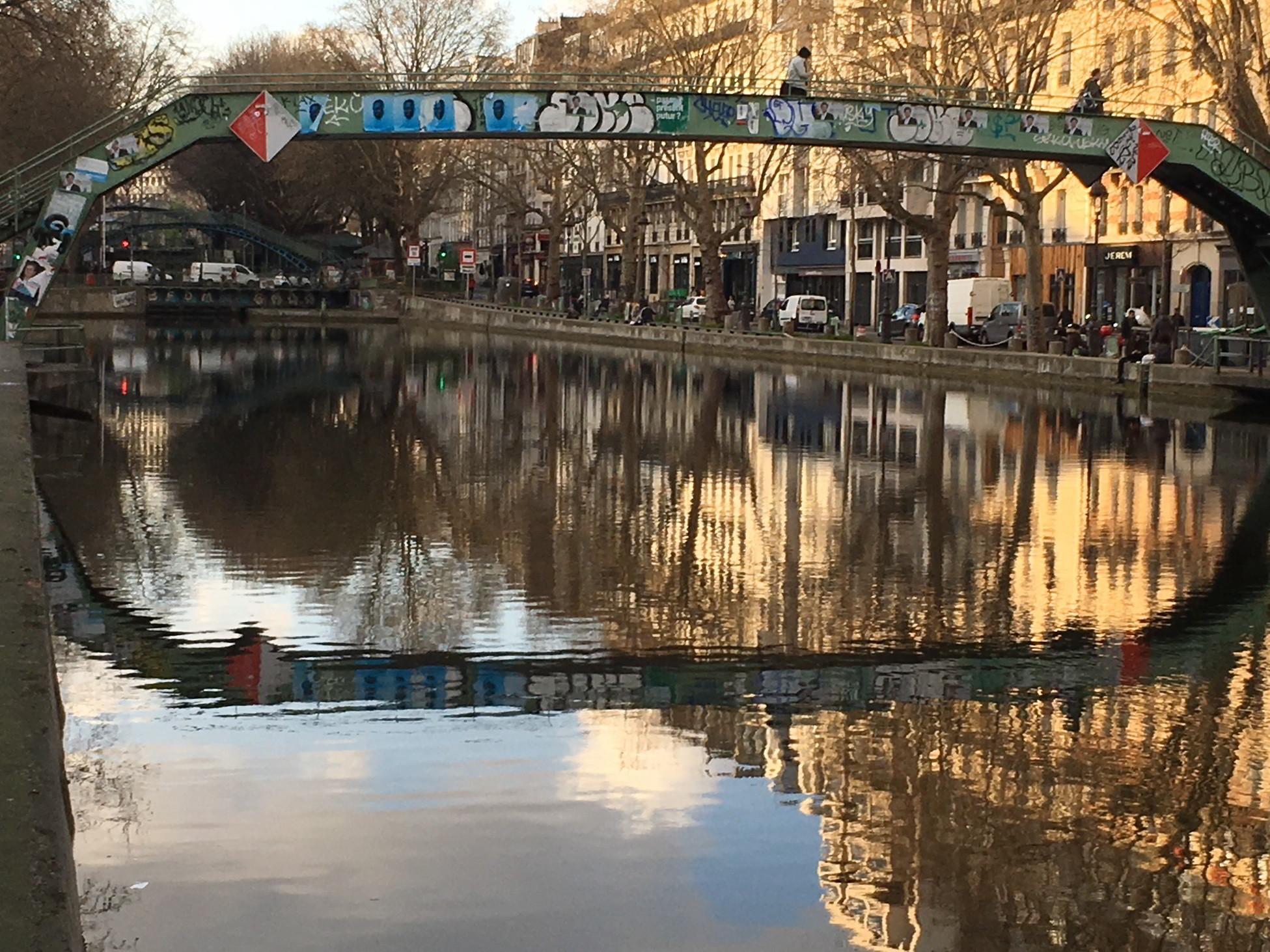 Miroir pour le Canal St Martin