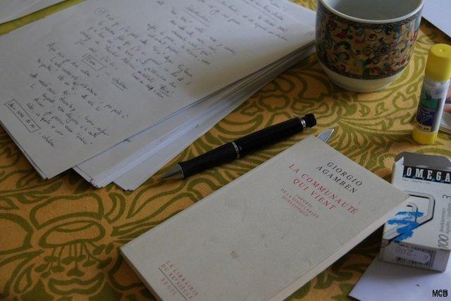 Ambiance d'écriture