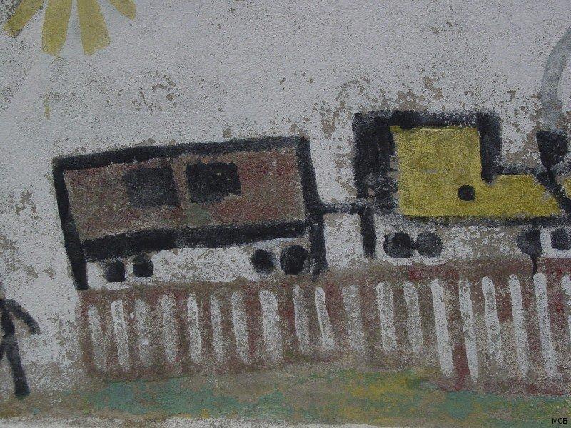 Train pour un départ