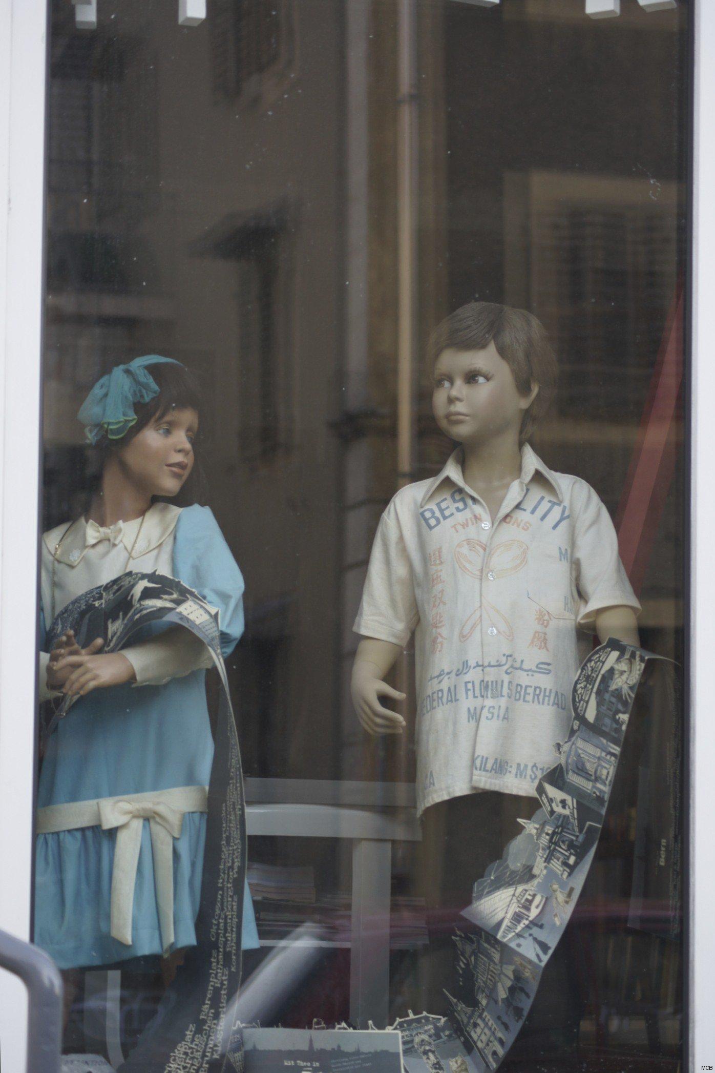 Dialogue en vitrine