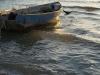 Barque au soleil couchant