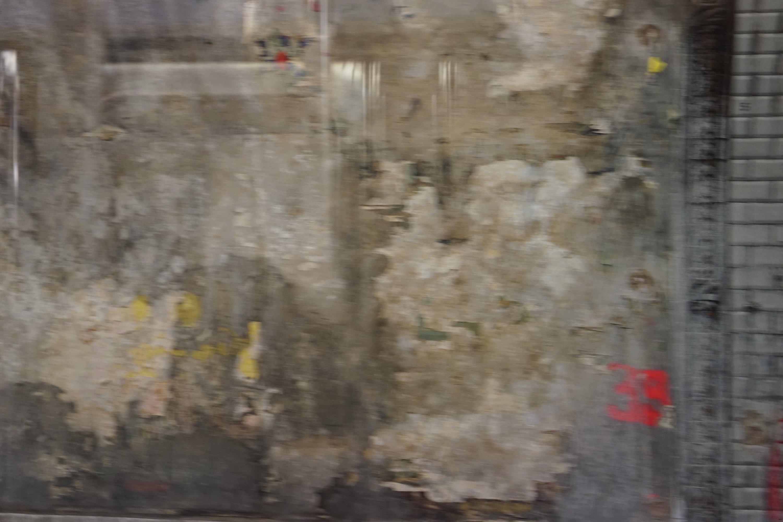 Mur en réparation