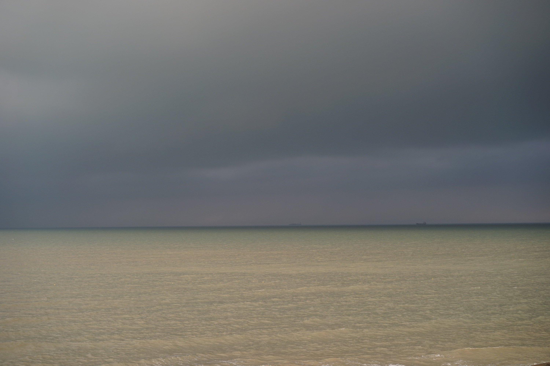 Ciel d'orage au couchant
