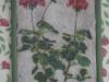 Tapisserie en fleur