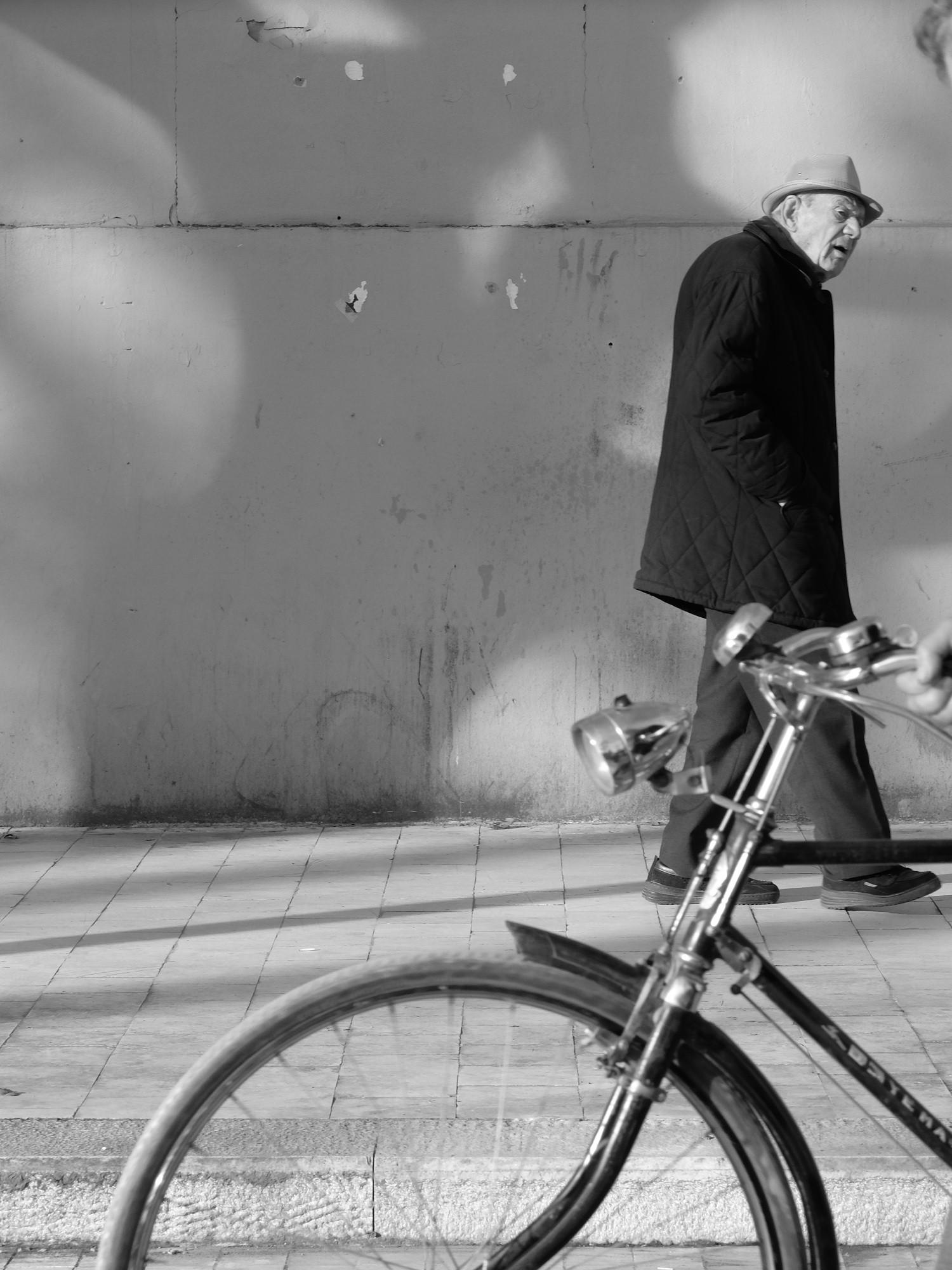 Vélo au passage