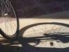 Vélo au couchant